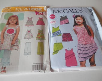 Summer Girls Dress Pattern Bundle