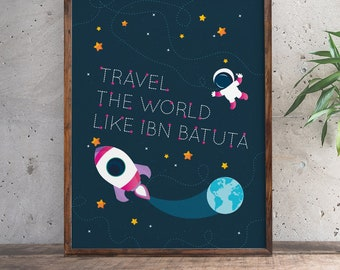 Travel The World Like Ibn Batuta | Girl