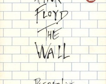 Pink Floyd The Wall Performed Live Tour Program