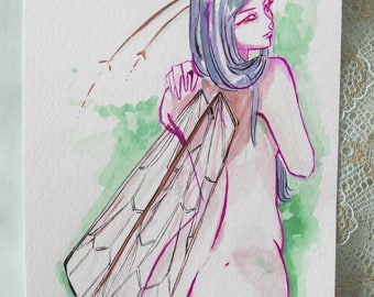 Butterfly - Original sketch