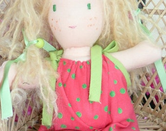 Waldorf NINA blond hair doll