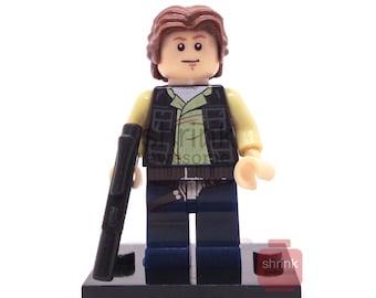 Custom HAN SOLO Inspired Custom Minifig Blocks  Star Wars A New Hope ROTJ Movie Lego Compatible Uk Seller