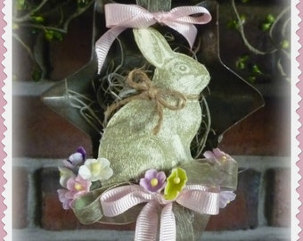 Easter Bunny in a Mini Tart Pan Ornament