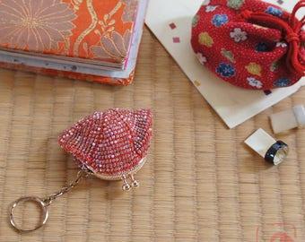 Baba handmade seedbeads crochet coinpurse No.731