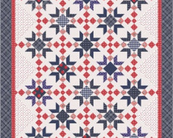 Red Delicious Quilt Pattern by Amy Smart for Riley Blake Designs
