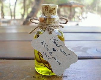 Olive oil favors | Etsy