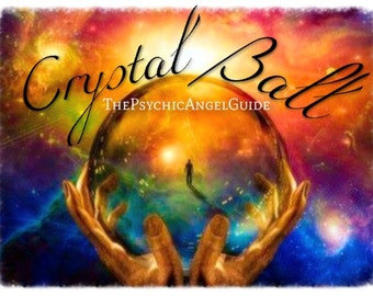 Crystal Ball Reading Plus Tarot In LIVE VIDEO and JPG
