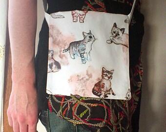 Kitty Mini Messenger Bag