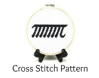 OctoPi Cross Stitch Pattern