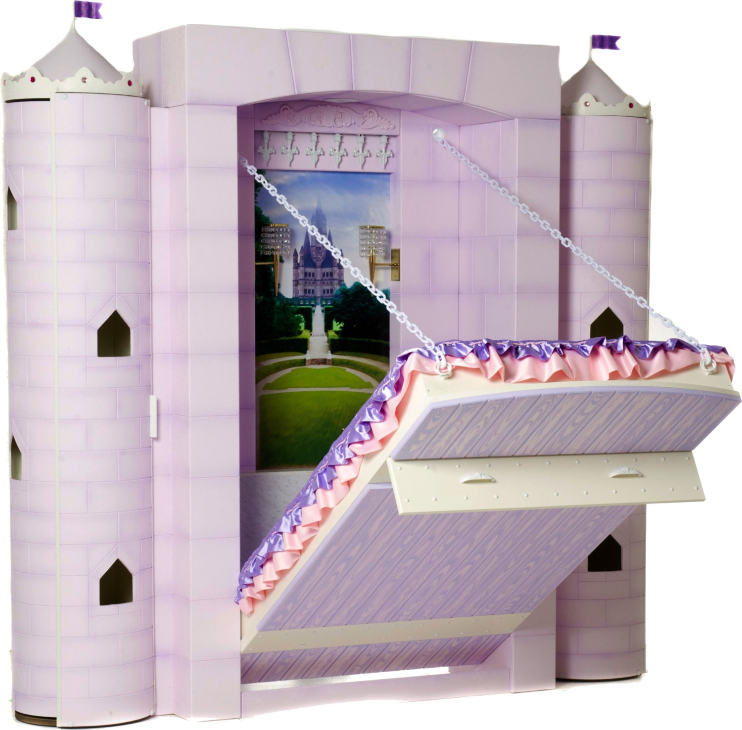 Princess Bed Castle Bed For Girl's Bedroom