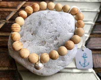 Sandalwood Essential Oil Diffuser Bracelet