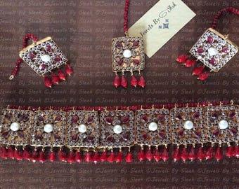 Roshanara Halsband set
