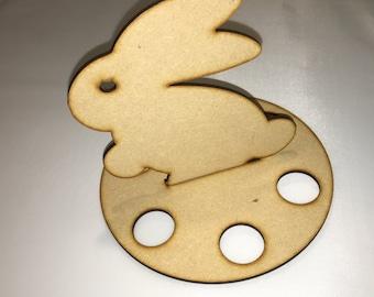 Easter Bunny egg holder X3 holds Six creme egg sized eggs