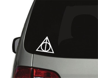 Harry Potter inspired Deathly Hallows - Decal