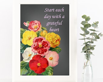 Inspirational Print-Quote Printable-Home Art-Instant Download