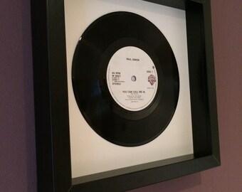 "Paul Simon ""You Can Call Me Al"" Original Framed Vinyl Gift"
