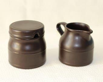 Kiln Craft - Staffordshire Ironstone - Made in England - Sugar Creamer