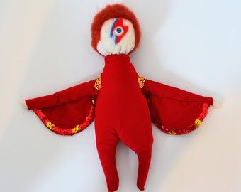 David Bowie Aladdin Sane Doll