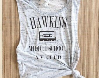 Hawkins Middle School Shirt,Hawkins shirts,Stranger Things,Stranger Things shirt,stranger things shirts,stranger things,Stranger Things Gift