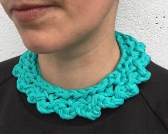 Colour pop bib necklace - Mint green