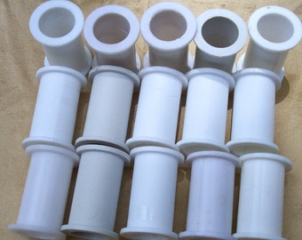 Empty Plastic  Ribbon Spools