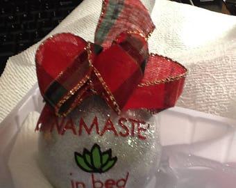 yoga ornament namaste