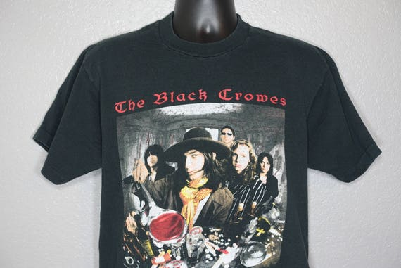 1992 The Black Crowes - High As The Moon '92 Tour Double-Sided Vintage Concert T-Shirt