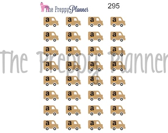 Delivery Truck Planner Stickers for ALL  Planner Types #295