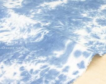 Japanese Fabric handprinted 100% linen  - 1 -  50cm