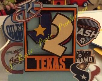 Texan Birthday Invitations