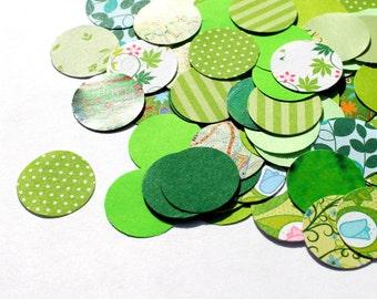 Confetti Circles, Table Decor, green, wedding, swag, shower confetti, table decoration, party, bridal shower, yolo