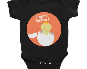 Baby Easter Onesie New Dad Baby Shower Gift Nursery Funny Baby Clothing New Mom Newborn Baby First Easter Infant Bodysuit