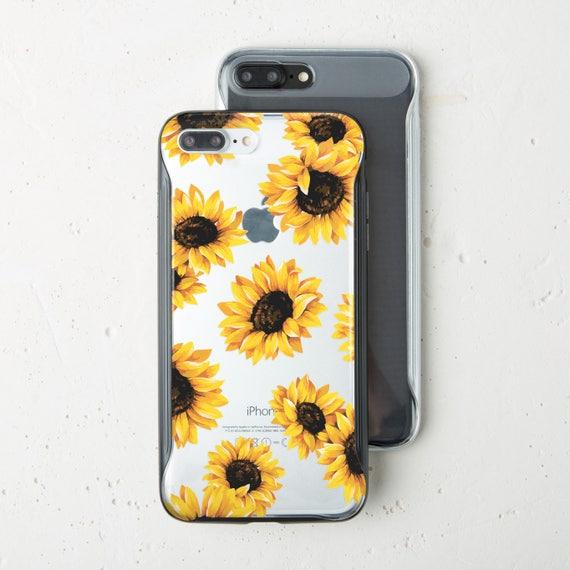 Sunflower Bumper Case iPhone 7 Case Bumper iPhone X Case