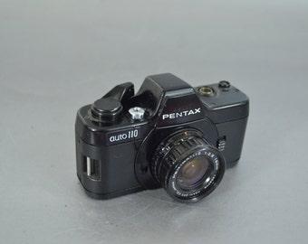 Vintage Mini  Pentax Auto 110 Camera - So Cool