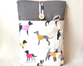 Dog Laptop Sleeve, Laptop Case, Laptop Cover, Dog MacBook Sleeve 10, 11, 12, 13, 14, 15, 16, 17 inch Computer Tablet Bag Sac Envelope Pouch