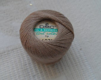 coton, darning or embroidery beige 100% cotton