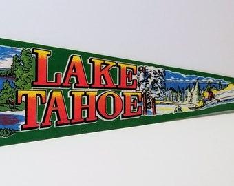 Lake Tahoe - Vintage Pennant