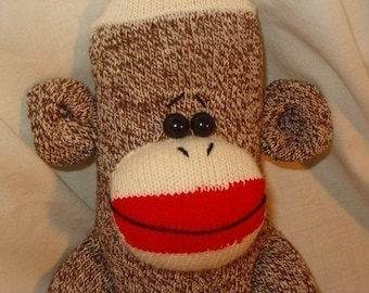 Make Your Own Sock Monkey Kit