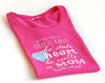 Sweet boy's mommy t-shirt