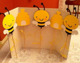 Cute Bee Party Centerpiece
