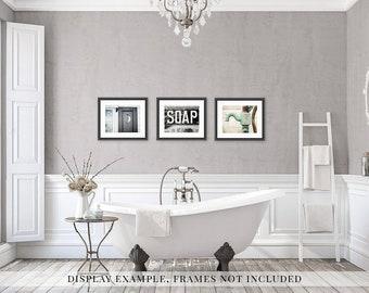 Rustic Bathroom Wall Decor, Bathroom Wall Art Set, Farmhouse Bathroom  Prints, Bathroom Art, Shabby Chic Bathroom.