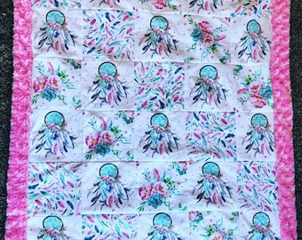 Custom patchwork quilt