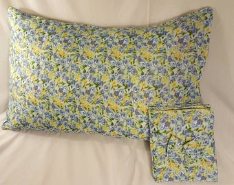 Yet another lovely Floral Print Cotton Pillowcase Set