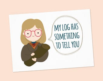 Greetings card kiki and jiji delivery service pdf diy twin peaks greeting card log lady my log has something to tell you m4hsunfo Gallery