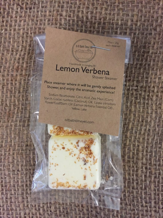 Lemon Verbena Shower Steamers