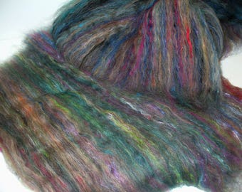 Multi Fibered Batts for Hand Spinning Yarn Felting