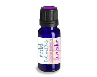 Lavender Essential Oil (Lavendula angustifolia) - 100% Pure Essential Oil - 15 mL