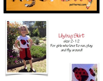 Lilybug Skirt Pattern Tutorial