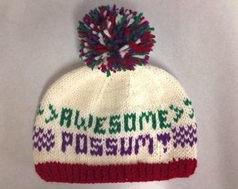PATTERN: Awesome Possum Hat