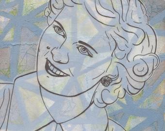 "Fine Art Print: ""Harriet"" 8x10 Matted to 11x14"